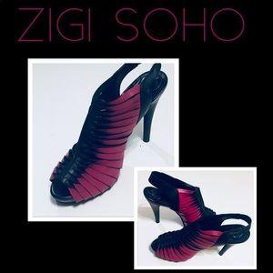 Zigi Soho Devon Strappy Platform Stiletto Heels